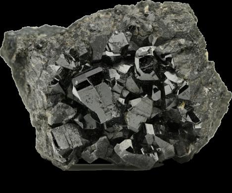 Realistic rock conflict minerals