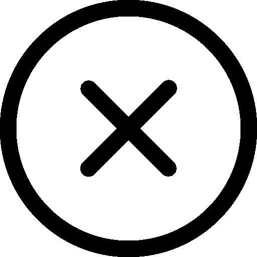 Circular button on homepage
