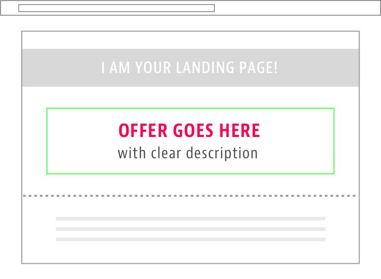 Benefit Focused Landing Page