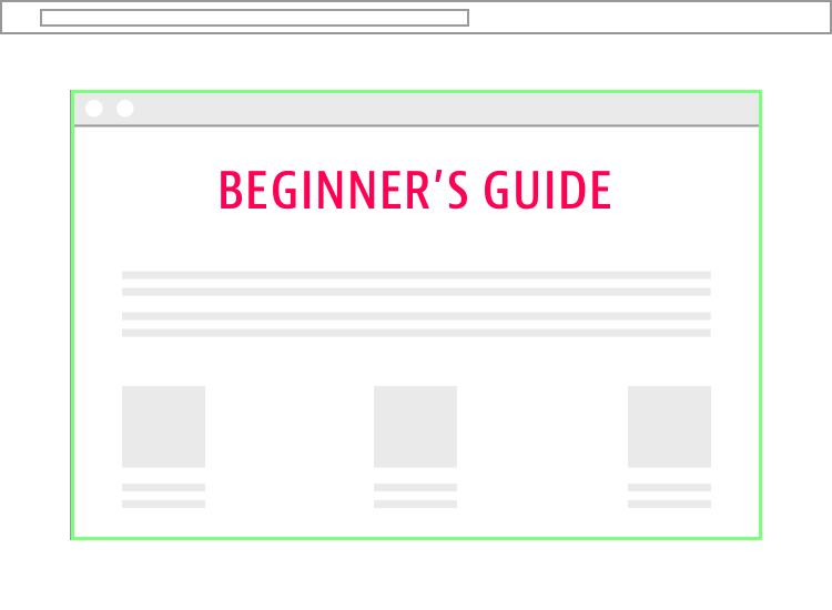 Beginner's Guide Landing Page