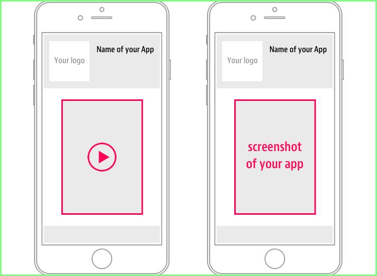 screenshots of your application