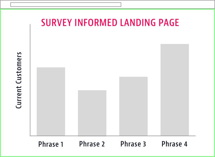 Survey-Informed Landing Page