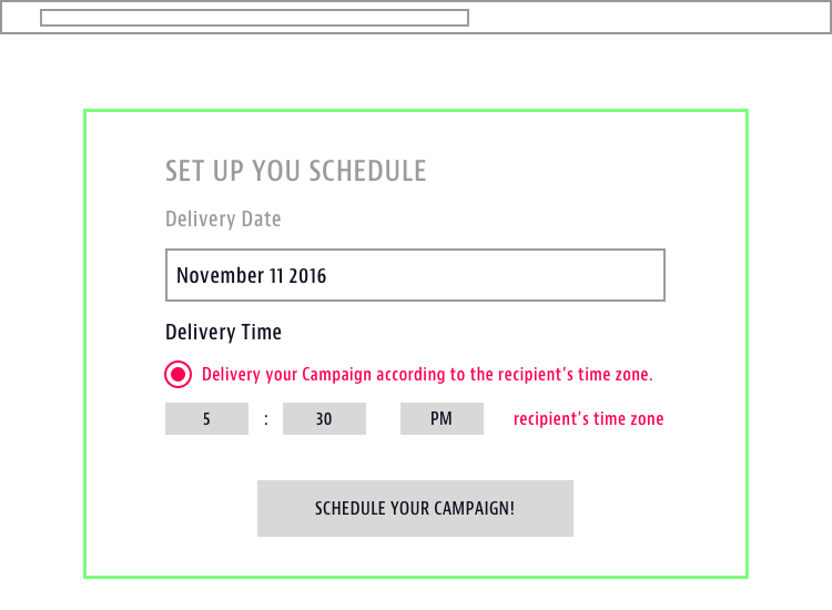 Send Email By Time Zone