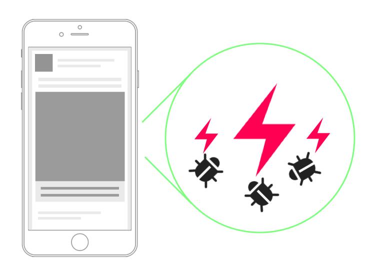 mobile app bugs fix