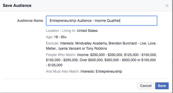 income based targeting