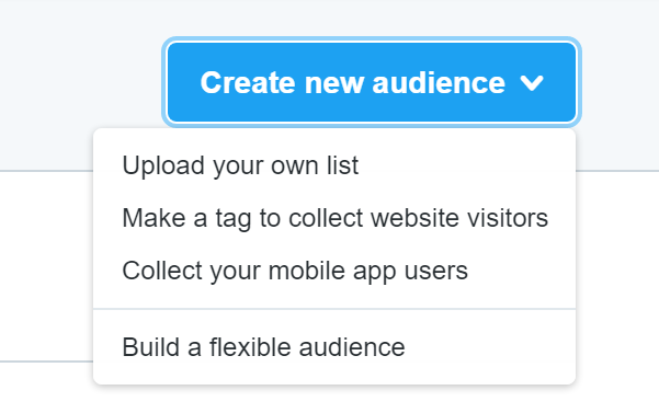 twitter ads - twitter new audience