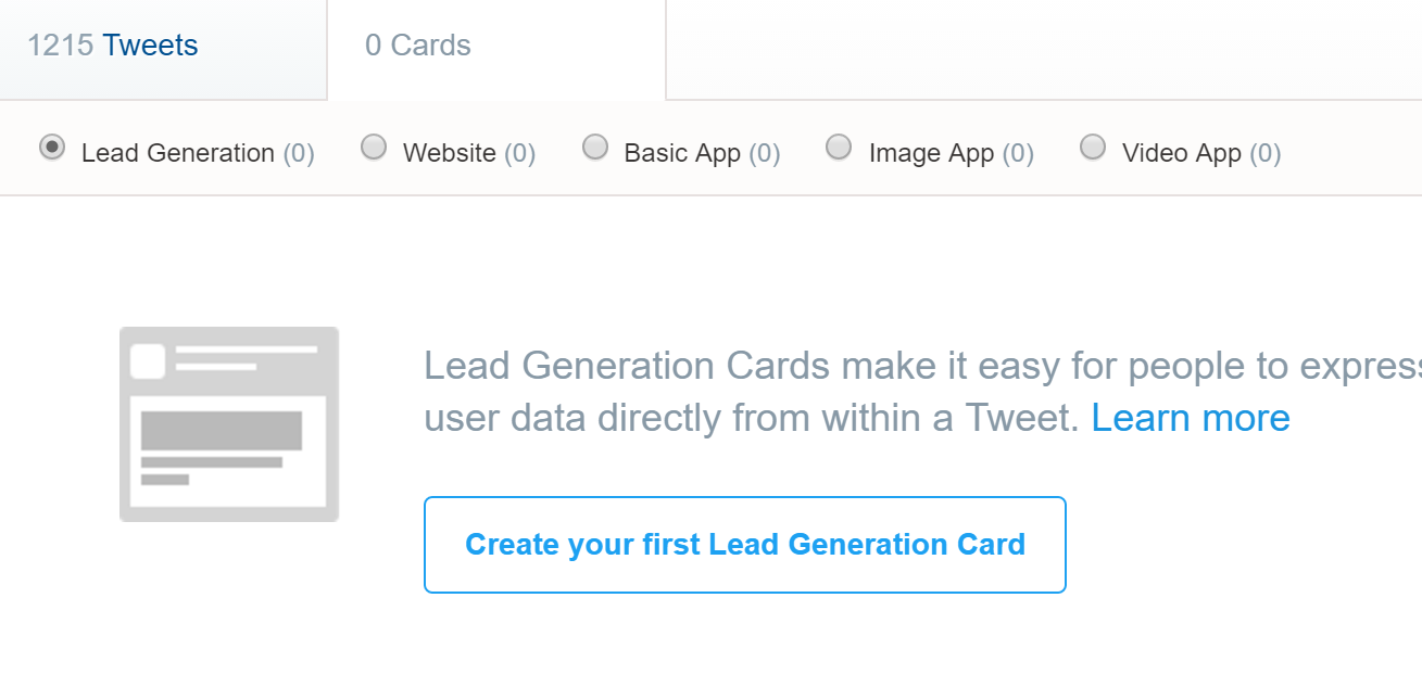 twitter ads - twitter ads manager