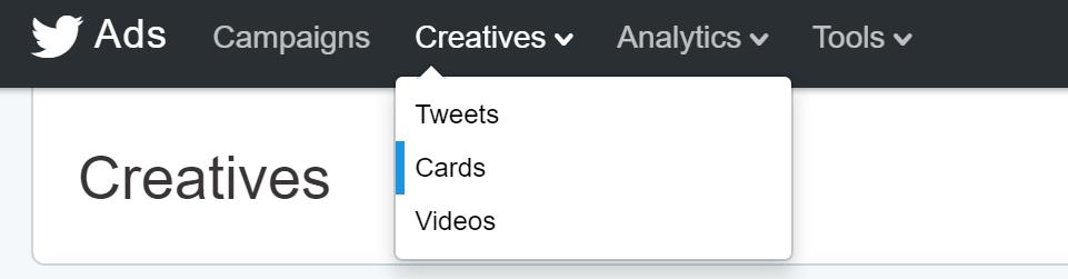 twitter ads - twitter creatives
