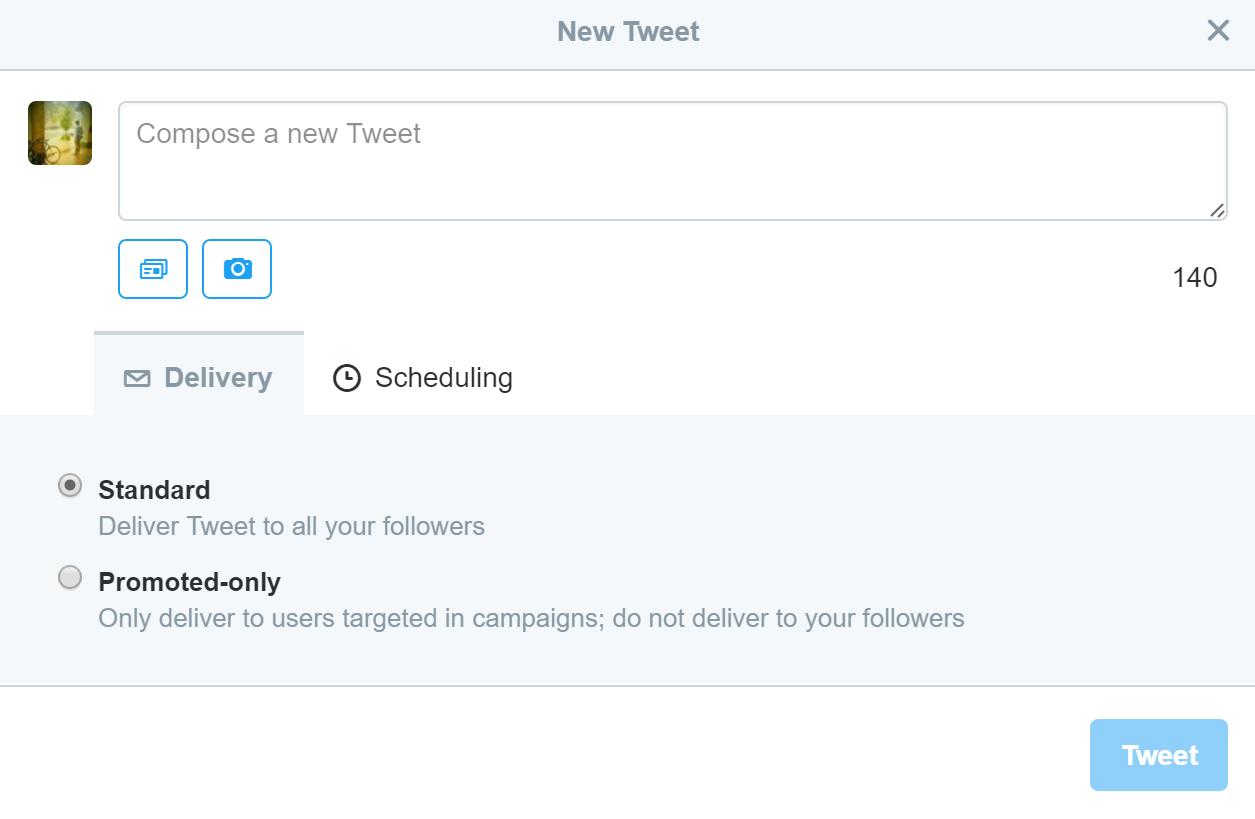 twitter ads - lead generation tweet