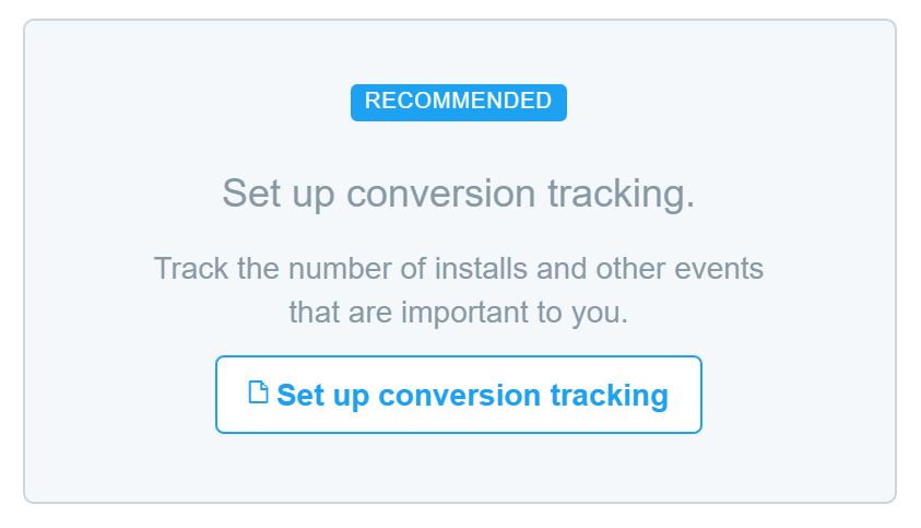 twitter ads - conversion tracking