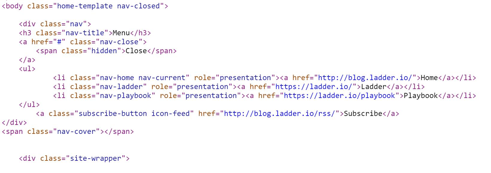 html code marketing skills