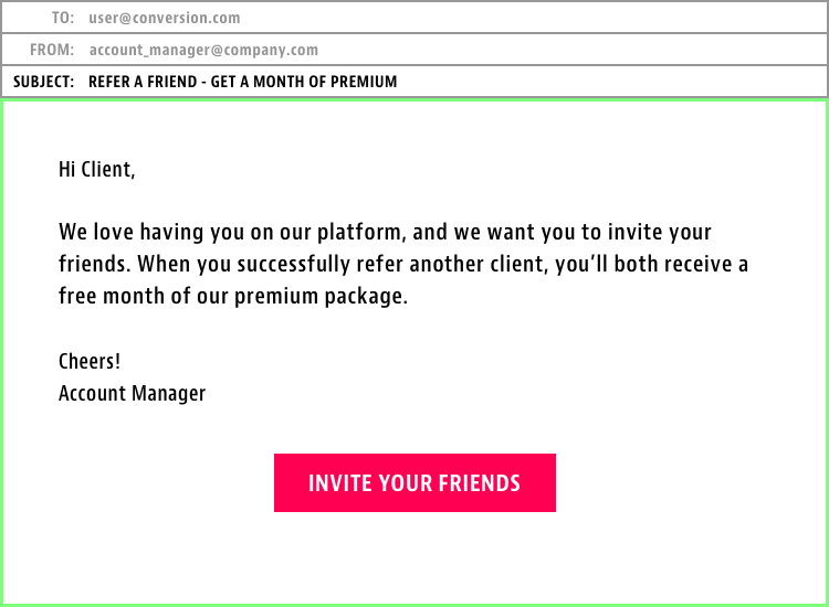 Referrals From Existing Users