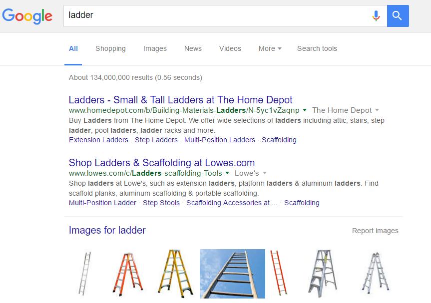 ladder keyword