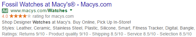 macys watches