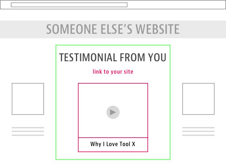 testimonial backlinks