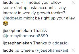instagram reply