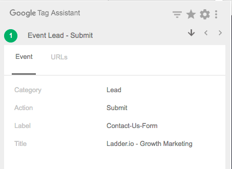 lead submit tracking