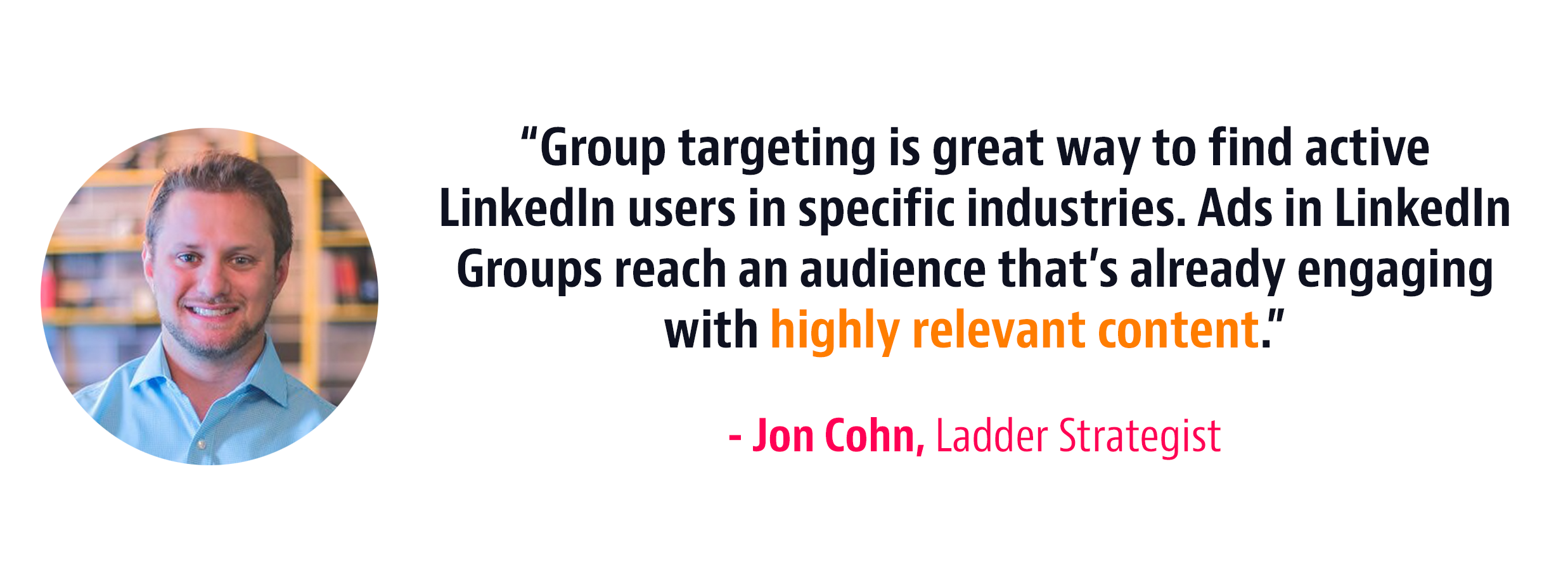 group targeting marketing strategy