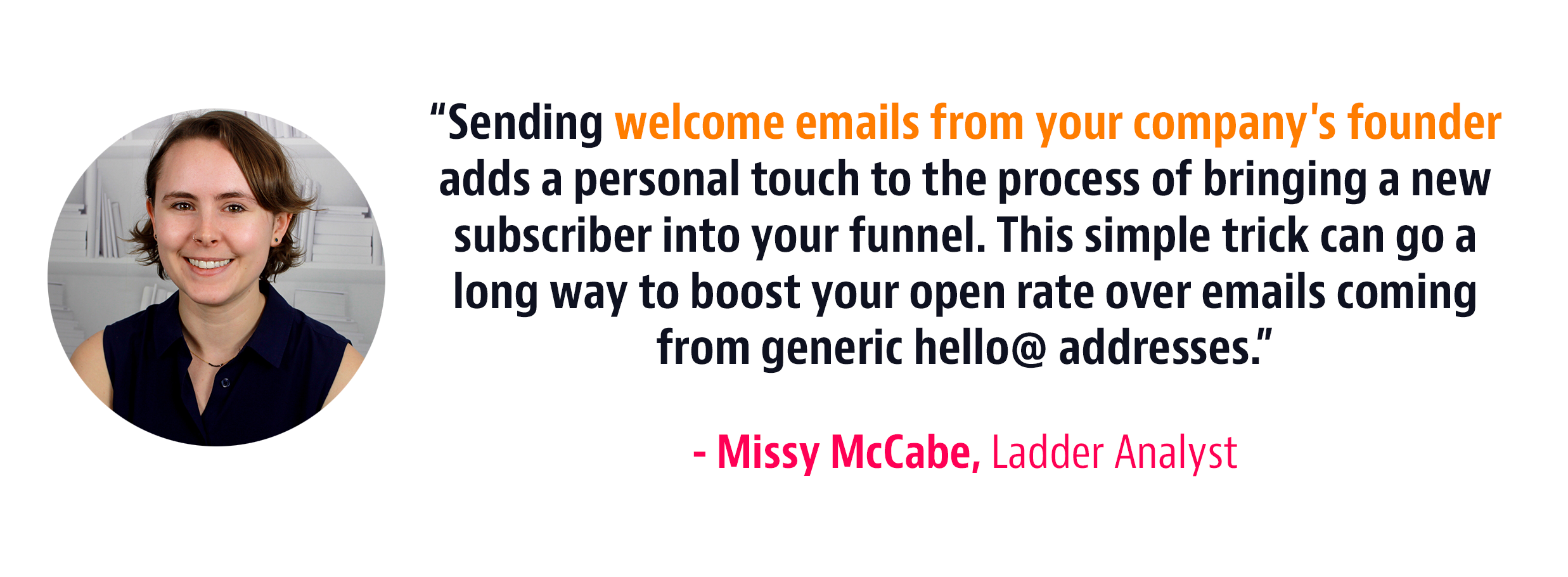 founder welcome strategy