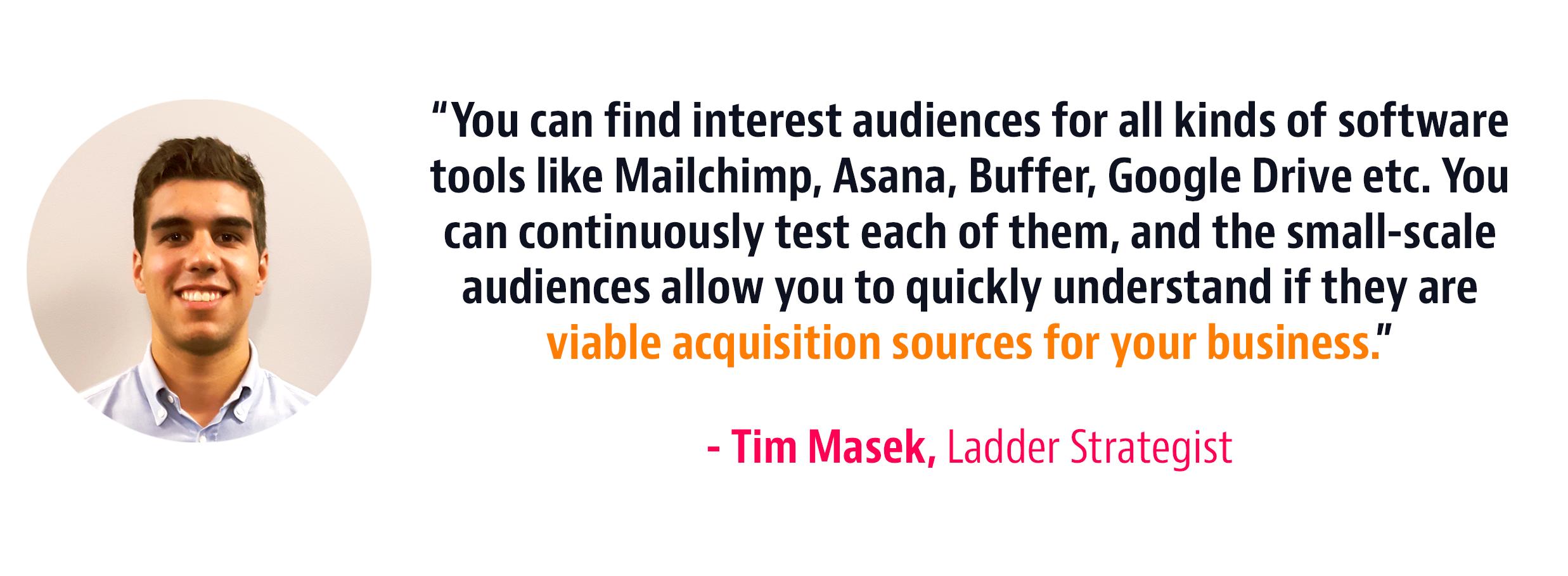 tools interest strategy