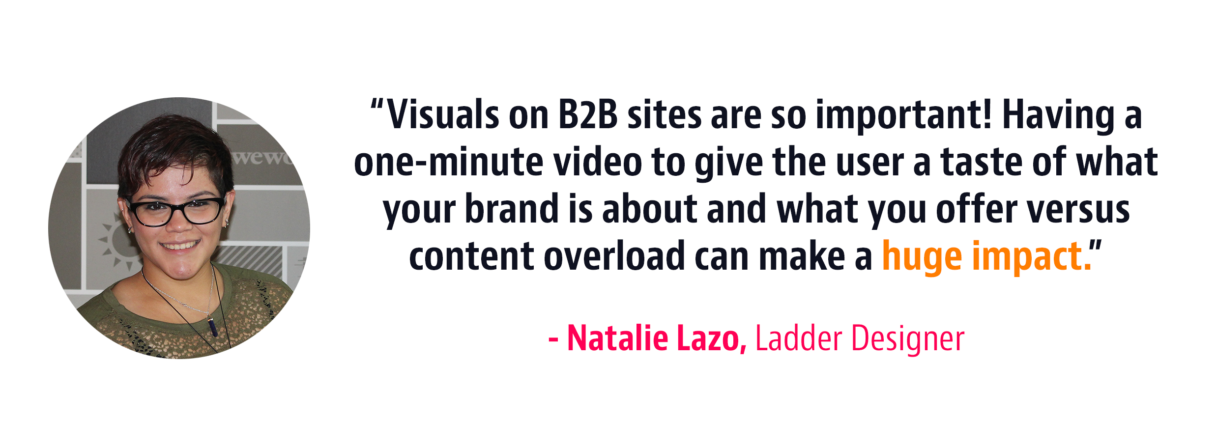 video landing page strategy