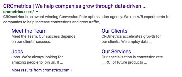 cro metrics