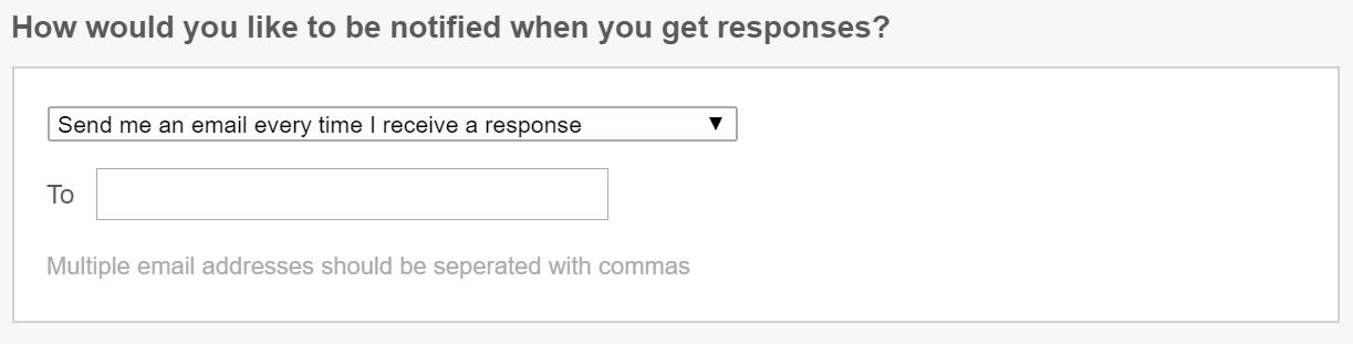 qualaroo survey notification options