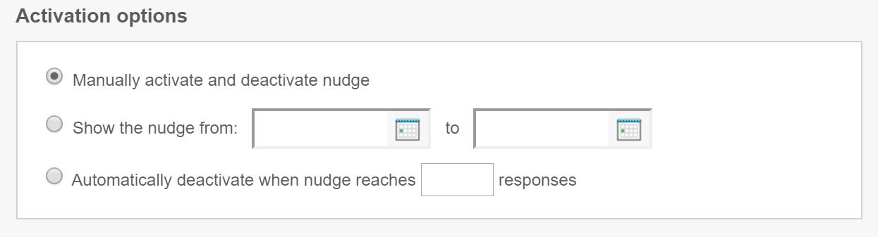 qualaroo survey activation options