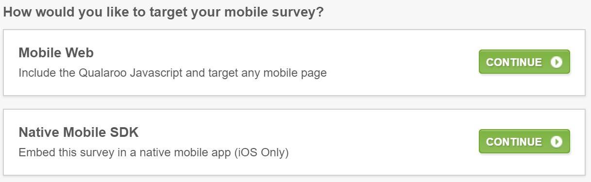 mobile targeting