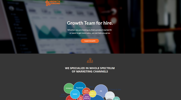 Growth Engine - Landing Page Copy