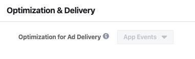 optimization and delivery of facebook ads