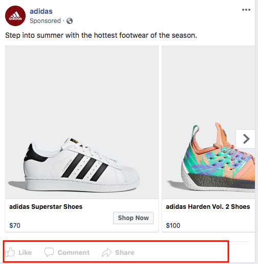 """No Engagement Metrics in """"Info and Ads"""" Section"""