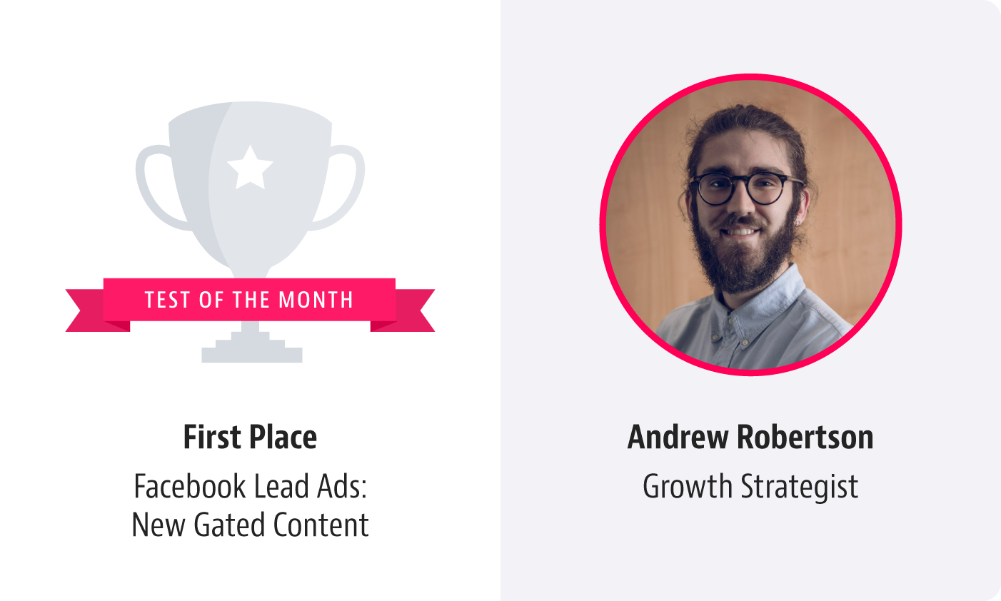 ladder growth test of the month facebook lead ads andrew robertson