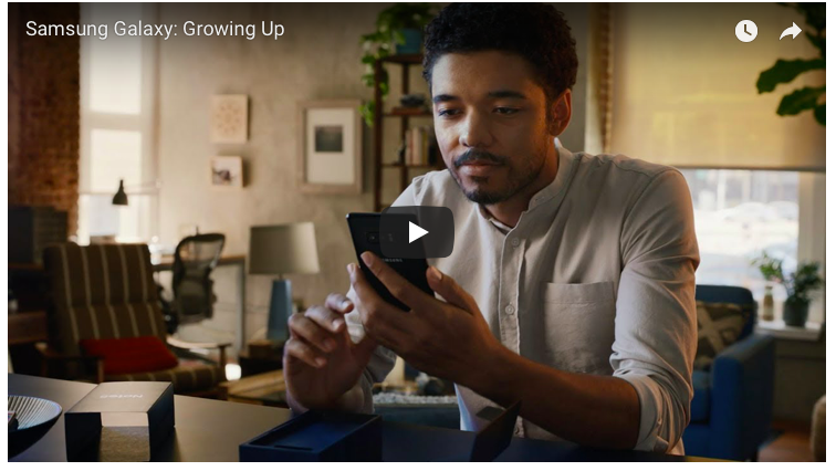 Samsung Galaxy Ad vs. Apple Ad