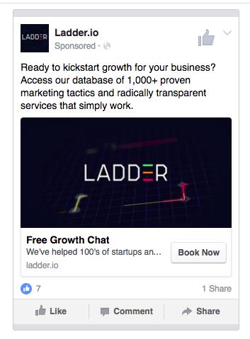 ladder ad copy
