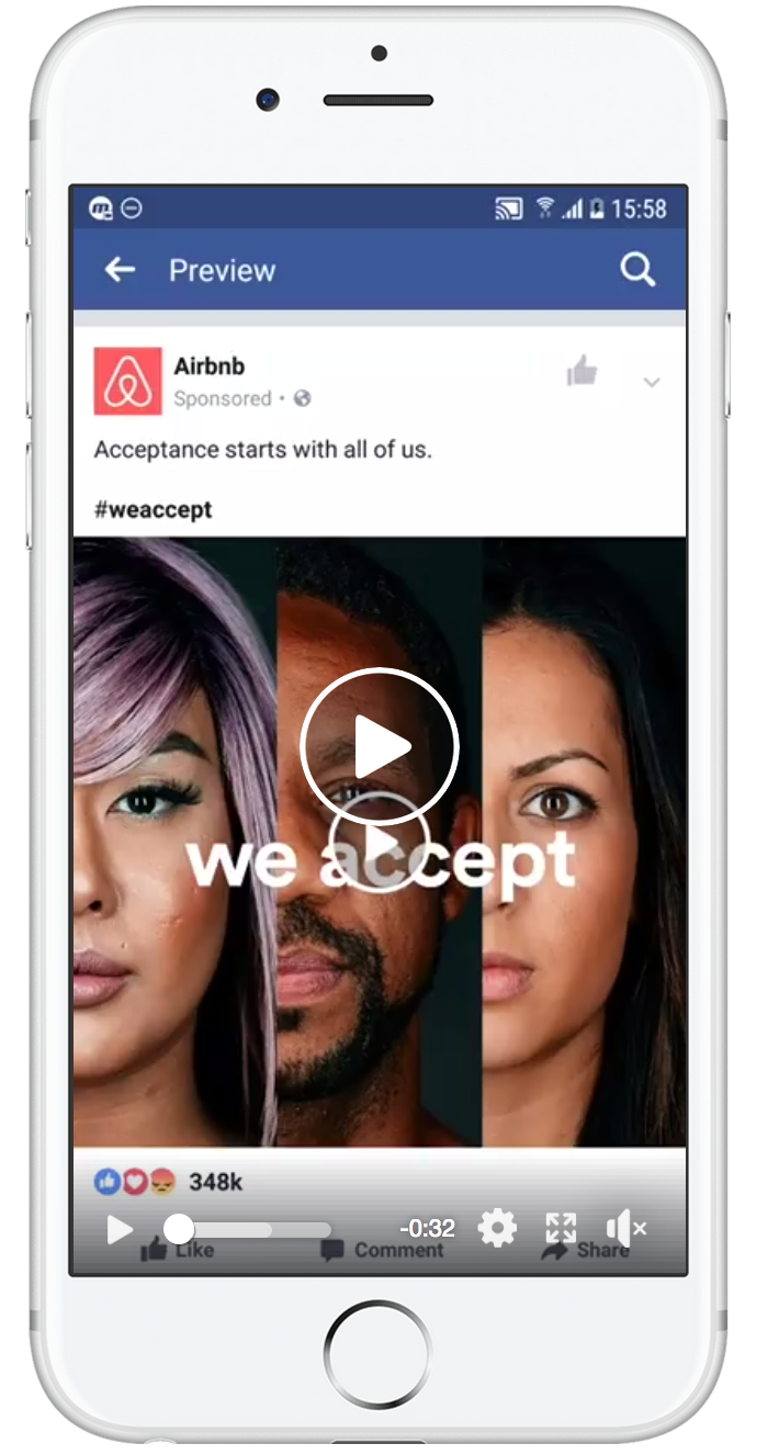 Facebook Video Ad Preview