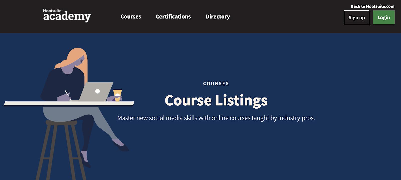 Hootsuite Social Media Marketing Certification