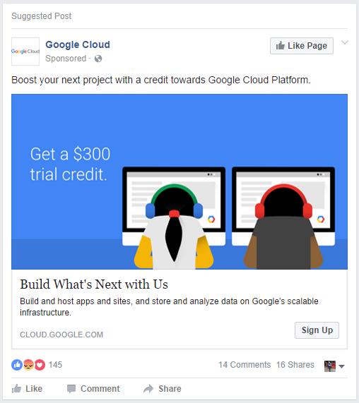 google cloud ad