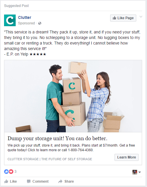 clutter ad