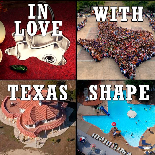 A meme shared by Heart of Texas