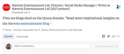 Bad Answer on Quora
