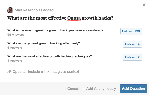 How to Add a Question in Quora