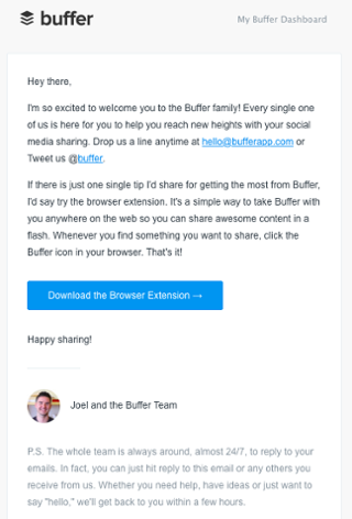 Send a Welcome Email to New Users