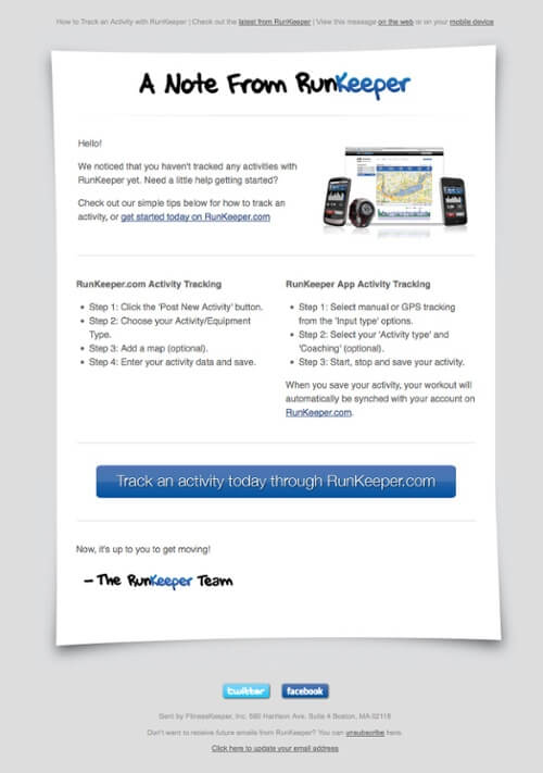 Send Email to New Users Likely to Churn