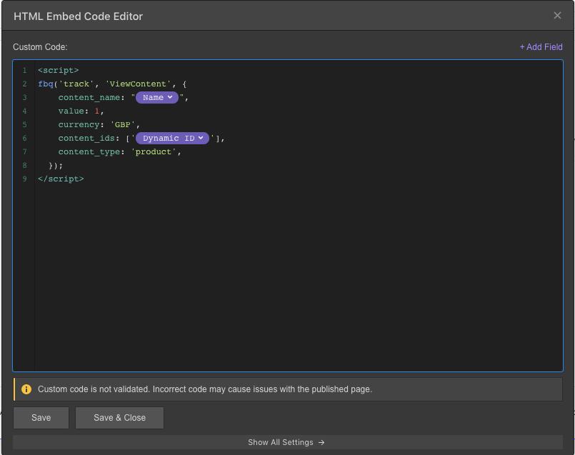 html embed code editor