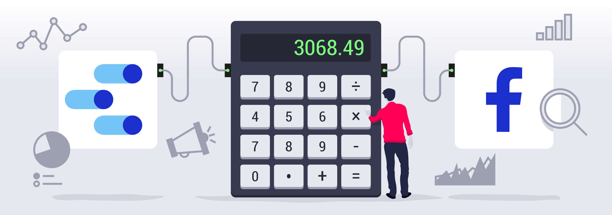 Create your own ad spend calculator with Google Data Studio