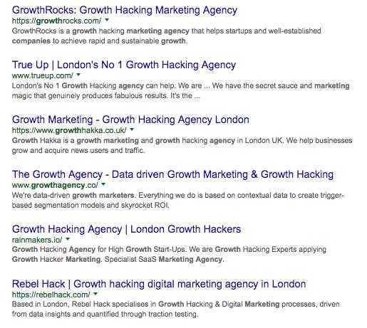 london search