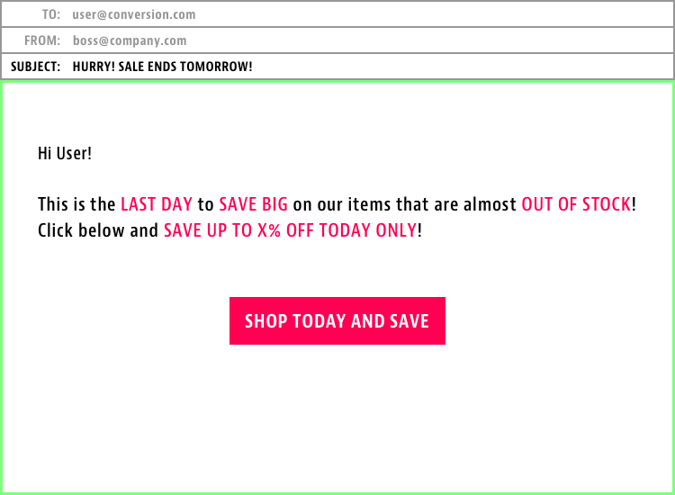 last day of offer email