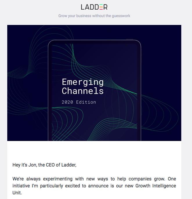 emerging channels email design