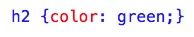 """CSS """"Color"""" Property"""